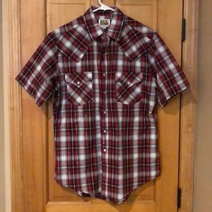 Men's Ely Cattleman pearl snap shirt